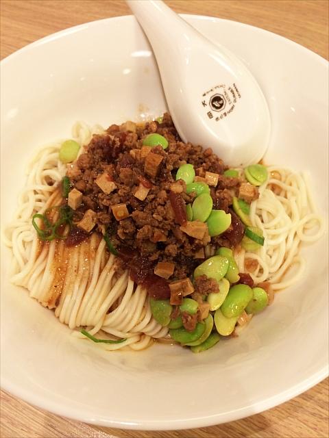ジャージャー麺 130元(470円くらい)