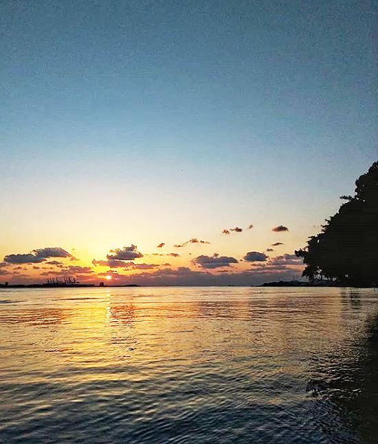 淡水の夕日2