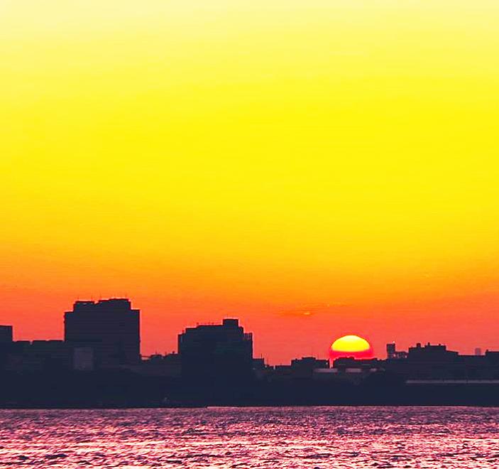 淡水の夕日3