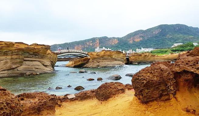 【野柳地質公園】台湾台北の超おすすめ絶景ポイント