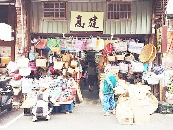 台北「迪化街」で雑貨や漁師バッグを買う