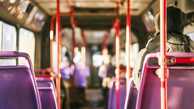 台北「九份」からバスで帰る