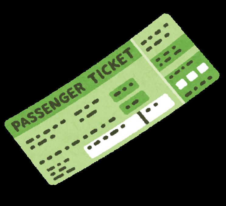 必需品9:航空券の予約表を印刷しておく