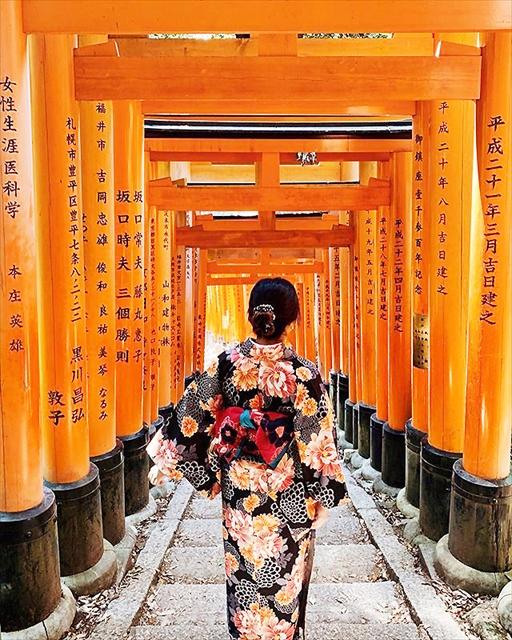 京都【伏見稲荷大社】見どころとアクセス 最強パワーの場所は?