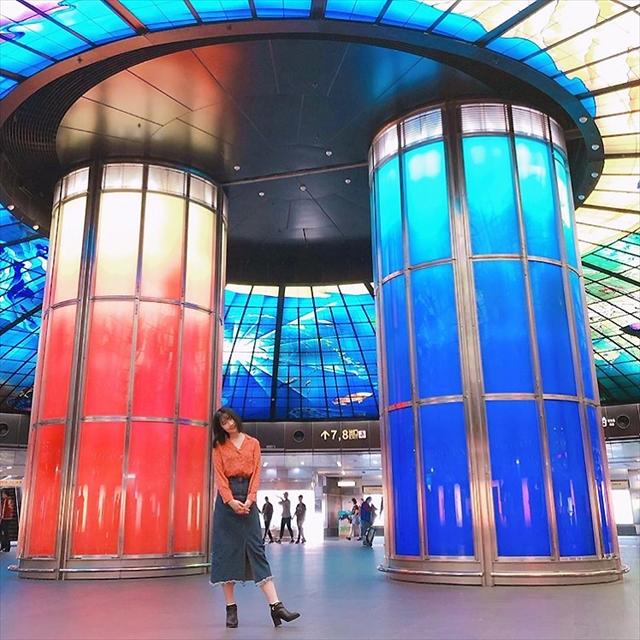 台湾高雄「美麗島駅」は世界第2位!